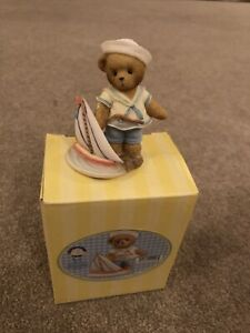 Cherished Teddies Aaron 2007 Club Exclusive Figurine 4007751
