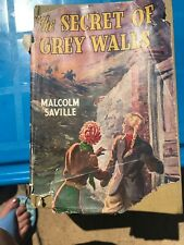 The Secret Of Grey Walls 1949 With Dust Cover