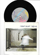 "Robert Plant - Big Log / Far Post - 1983 7"" picture sleeve single 45rpm"