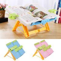 Adjustable Reading Book Stand Rest Bookrest Foldable Student Studying Holder New