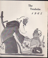 The Trenholm 1965 New Year's Eve Menu Rochester NY New Year's Baby