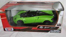 Motormax 1:24 Metallmodell - Pagani Huayra Roadster in grün - Neu in OVP