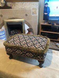Vintage Sherborne footstool
