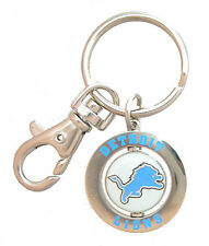 Detroit Lions NFL Spinner Key Chain