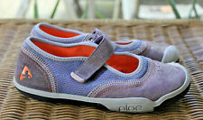 PLAE Emme Mary Jane Shimmer Suede Girls Eco Shoes Kids Size 2 Washable $53