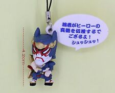 Tiger & Bunny Japanese Anime Cell Phone Strap 4.2cm Figure ORIGAMI CYCLONE