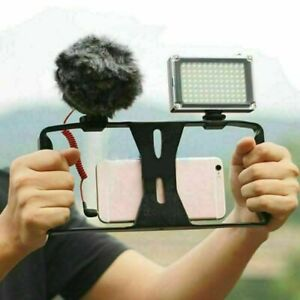 For Mobile Phone Camera Video Cage Handheld Stabilizer Mount Holder Frame Rig *1