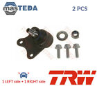 2x TRW LOWER FRONT SUSPENSION BALL JOINT PAIR JBJ703 P NEW OE REPLACEMENT