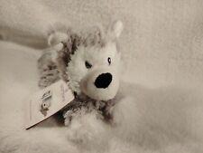 Warmies Cozy Plush -  Husky Junior Mini Therapy Microwavable Heatable Toy