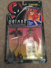 Batman The Animated Series Scarecrow Action Figure, Kenner, Carded, 1994