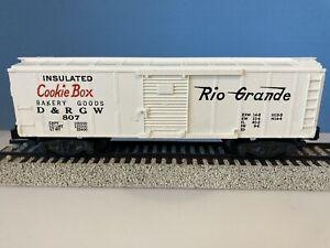 American Flyer S Gauge #807 Rio Grande Cookie Box Car