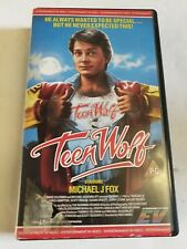 TEENWOLF SMALL BOX MICHAEL J FOX ENTERTAINMENT IN VIDEO EV CLASSIC