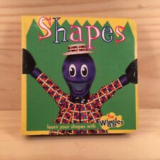 The Wiggles SHAPES Beautiful Kids Miniature Picture Storybook (2002) Board Book
