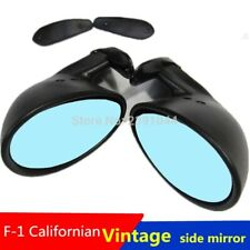 California Style Universal Car Classic Retro Door Wing Side Mirror Rearview