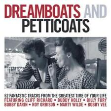 Various Artists : Dreamboats and Petticoats CD (2007)