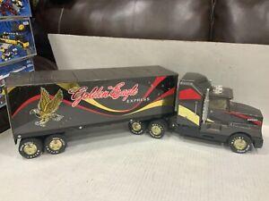 Vintage Nylint Golden Eagle Express Brown Plastic Semi-Truck