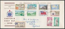SAMOA 1962 definitive set complete on reg FDC..............................55548