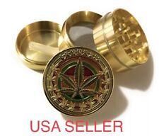"1.5""X1.5""Tobacco Herb Grinder Spice Herbal Alloy Smoke Crusher 4 Piece Metal"