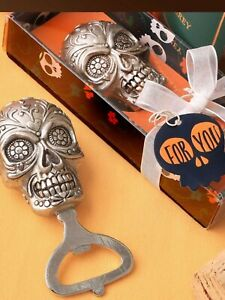 Sugar skull bottle opener day of the dead drinking drink beer alcohol present