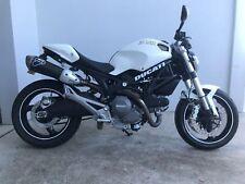 White Ducati vinyl sticker / decal, 285mm x 40mm