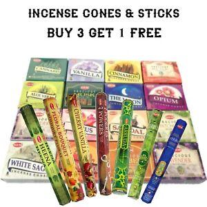 Hem Premium Incense Sticks & Cones Incense Scent Burning Cones Various Scents