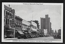 Eckerd's Modern Drug Store Main Street Columbia South Carolina SC cars postcard