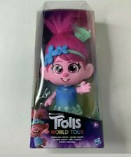 DreamWorks Trolls World Tour Toddler Poppy Doll.New In Box. Discontinued. RARE