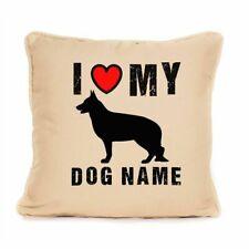 More details for gift for dog german shepherd gift alsatian dog cushion personalised present