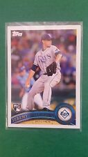 JEREMY HELLICKSON 2011 TOPPS CARD #165 RAYS/ORIOLES (( ROOKIE ))