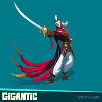 GIGANTIC Tyto the Swift Excelsior Skin DLC Code for Xbox One Game
