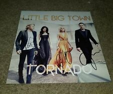 LITTLE BIG TOWN Signed TORNADO 12X12 ALBUM COVER PHOTO