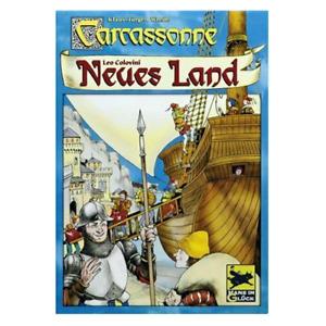 Carcassonne NEUES LAND - Wrede/Colovini - gebraucht