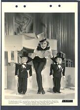 SEXY SHOWGIRL - TOP HAT - PUPPETS - ART DECO SET - N MINT DBLWHT KEY BOOK 1936