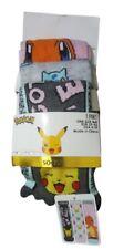 Pokemon Character 3 Pair Ankle Socks Trainer Socks Ladies Christmas Gift New
