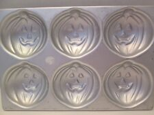 Halloween Theme Jack-o-Lantern Jello Mold Aluminum Pan