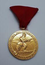 Firefighting medal, order - FIREMAN'S ASSOCIATION OF Croatia, vintage order !