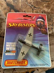 MATCHBOX, SKY-BUSTERS ,SB-7 JUNKERS 87B, in package, 1974, Made in England