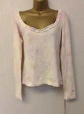 Women's Long Sleeve Sleeve Fitted Cotton Blend Petite Tops & Shirts