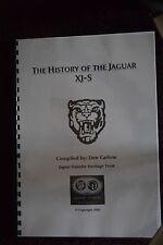 Jaguar XJS History manual from the jaguar heritige trust A4 printed / PDF