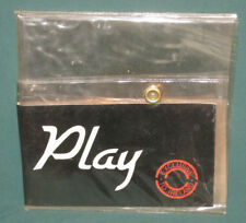 U2 4 Play Set Collection W/ PVC Wallet Original NM Ireland