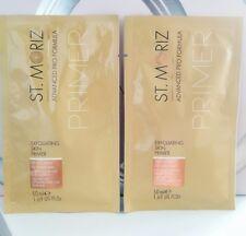 Sealed St. Moriz Exfoliating Skin Primer travel size 2 X 50ml (100ml in total)