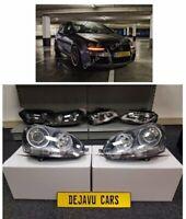 VW GTI R32 Look Scheinwerfer Xenon Optik Schwarz für Volkswagen Golf 5 Jetta 3
