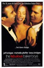 Fabulous Baker Boys (1989) Original 27 X 40 Theatrical Movie Poster