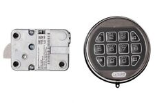 LA GARD LG Basic II Digital Keypad Electronic Lock Gun Any Safe Chrome Repl S&G