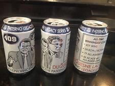 Coach Joe Paterno 409 Duke Beer Can Penn State Nittany Lions Football Ncca Sport