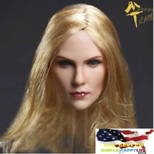 1/6 Charlize Theron female head sculpt Blonde hair FOR Hot toys Phicen ❶USA❶