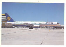Ambassador Airways UK Defunct Boeing 757-236 Postcard