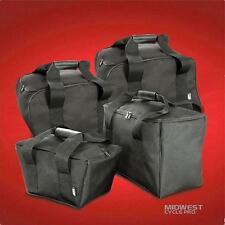 4 pc set - 2 Saddlebag Liners & 2 Piece Trunk Liner Set for Can Am Spyder RT