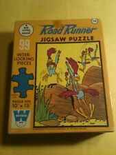 "1960s UNOPENED Road Runner Big Little Book 10"" by 13' Jigsaw Puzzle"
