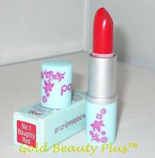 POP BEAUTY Lip Lust Lipstick #1 NAUGHTY RED Boxed LowSh